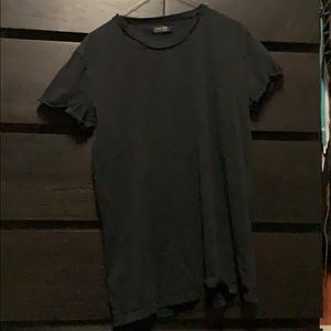 Zara Pre-Ripped/Worn Men's Medium Black Shirt